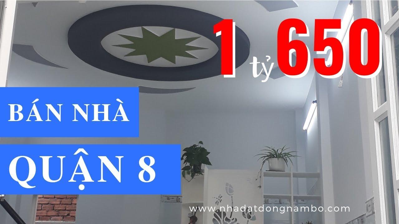 Bán nhà Quận 8 giá rẻ dưới 2 tỷ, Nhà đẹp 1 lầu 2PN, đường Lưu Hữu Phước, F.15, Q.8