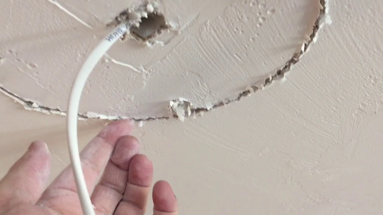 How To Install Ceiling Speakers When There Is Blown