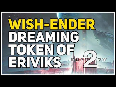 Dreaming Token of Eriviks Destiny 2 Wish-Ender