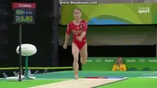 Jiaxin Tan CHN Qual VT Olympics Rio 2016