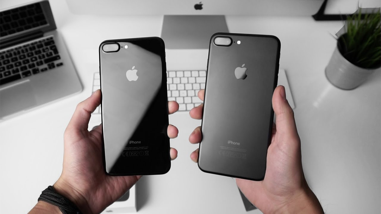Black or Jet Black? Watch this before making your decision ...