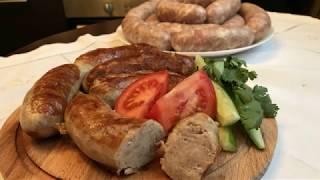 Вкусные и сочные домашние колбаски!!! Пальчики оближешь!