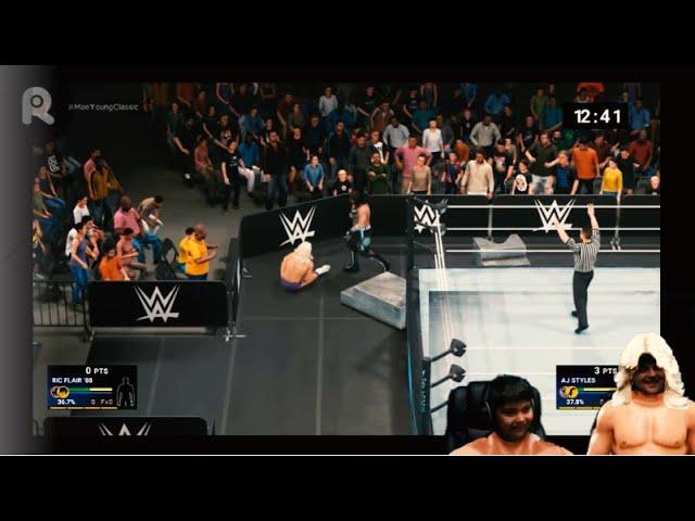 WWE 2K19 - PS4 - 88' Flair vs. Styles - Iron Man Match