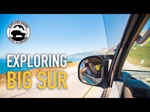 055 Road Blocks Don't Stop Us Visiting Big Sur, California