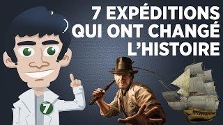 7 expéditions qui ont changé l