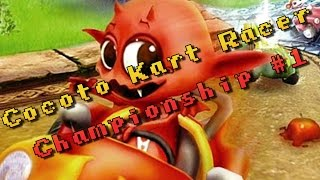 Cocoto Kart Racer Game - Championship  # 1 - Nintendo DS
