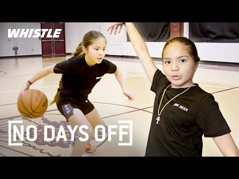 10-Year-Old HANDLES Like Kyrie Irving  Jiggy Izzy Highlights