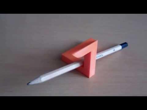 Amazing 3D Printed Paradox Design - Penrose Triangle