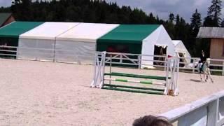 Bąbel i Wiktoria Krzywda 14 lipca Toporzysko  80cm 6 miejsce