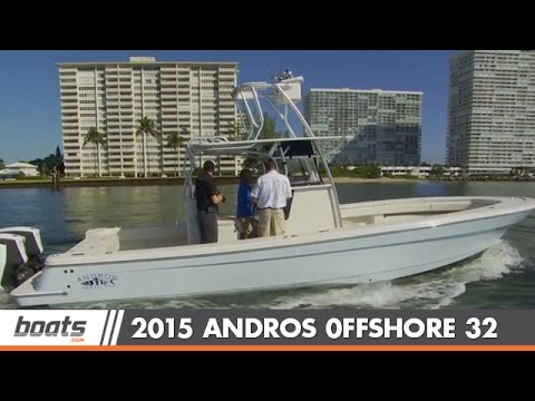 2015 Andros Offshore 32: First Look Video