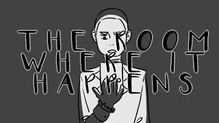 The Room Where It Happens } Hamilton Animatic