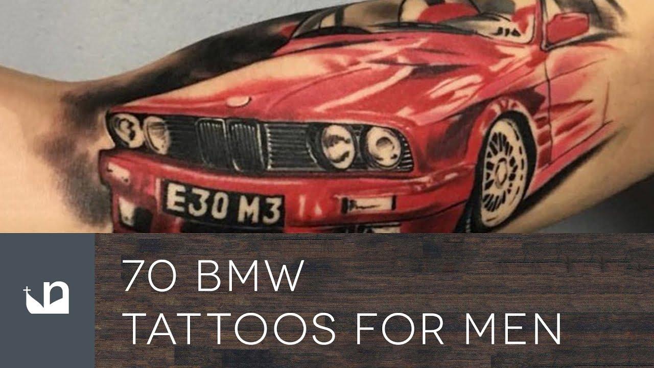 70 BMW Tattoo Ideas For Men – Automotive Designs