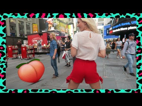 VITA TWERKT OP TIMES SQUARE + SNIFFELENDE MAN (NYC PART 5) | BLONDE TIGERS - VLOG #259