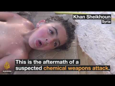 THE TERRIBLE FOOTAGE OF CIA SPONSORED NERVE GAS ATTACK IN SYRIA....