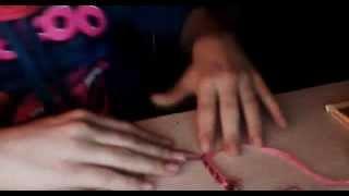 Как плести фенечку?Видео урок №2,By Darya love♥