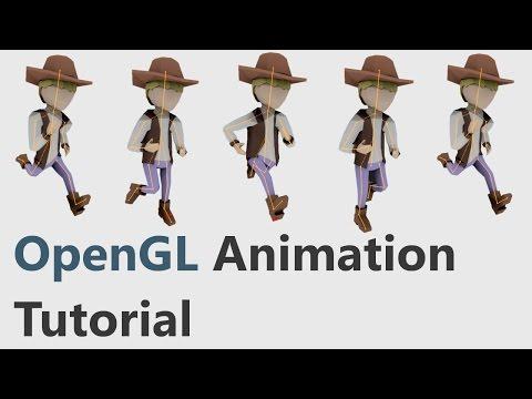 OpenGL Skeletal Animation Tutorial #1