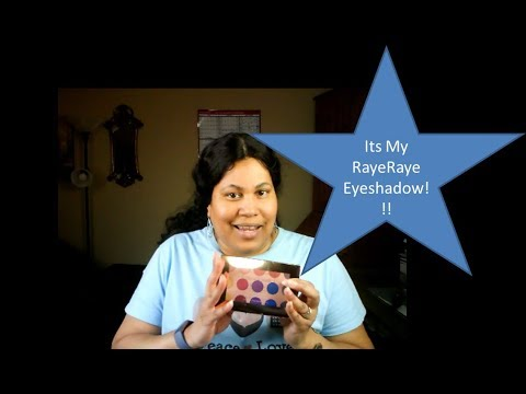 Its My RayeRaye Eyeshadow Tutorial and Review thumbnail