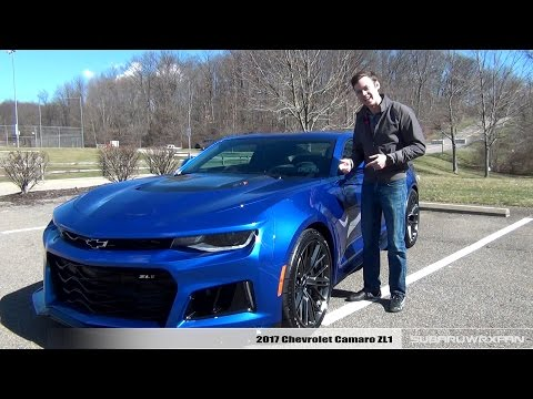 Review: 2017 Chevrolet Camaro ZL1 (10 Speed)