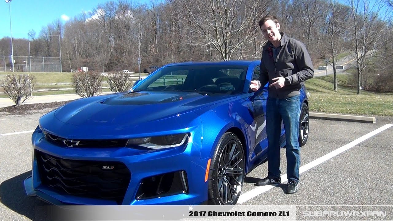 Review 2017 Chevrolet Camaro Zl1 10 Speed Youtube