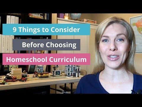 9 Things to Consider Before Choosing Homeschool Curriculum