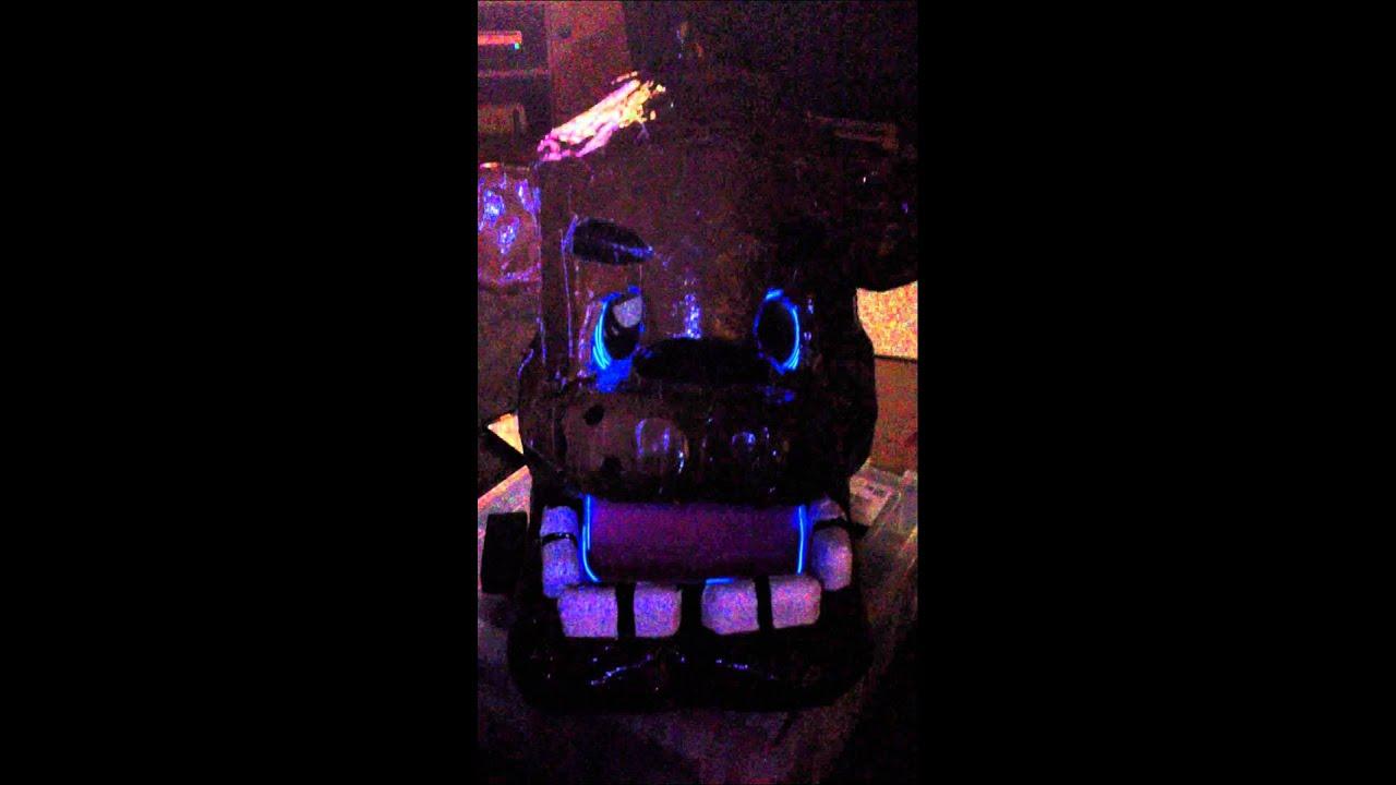 Freddy fazbear cosplay progress youtube
