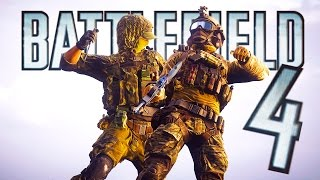 Battlefield 4 Random Moments 61 (Amazing Knife Save, Flying Tanks)
