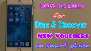 """How To Apply For """"Dine & Discover NSW Vouchers"""""""