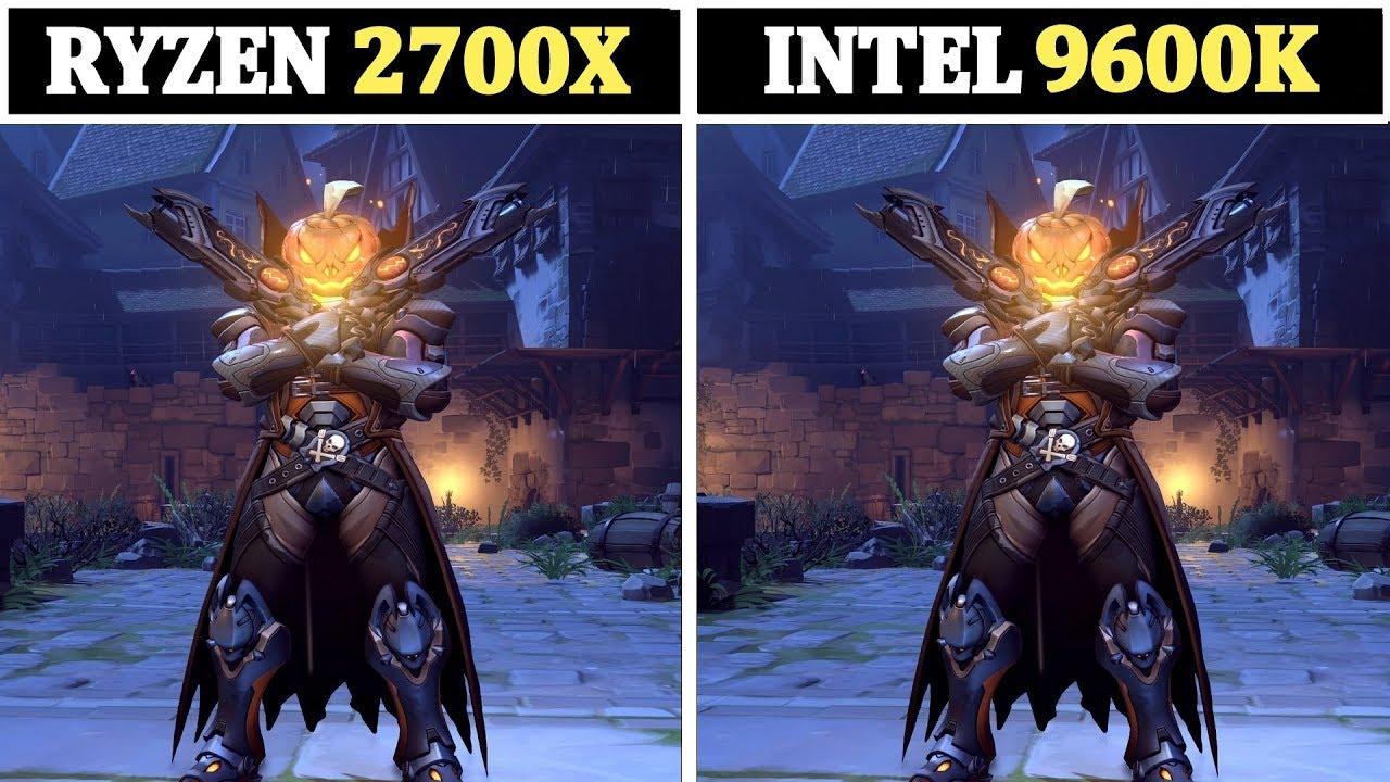 Ryzen 7 2700X vs Intel I5 9600K | Tested 13 Games |