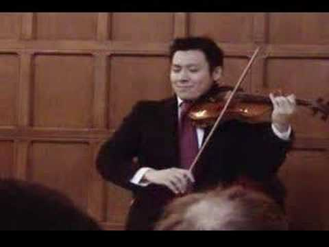 Conrad Chow plays Chopin Nocturne in C# minor on Violin