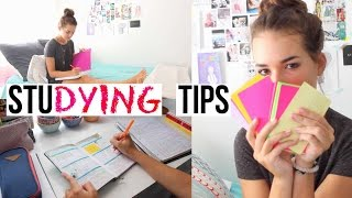Studying Tips for This School Year! | Reese Regan