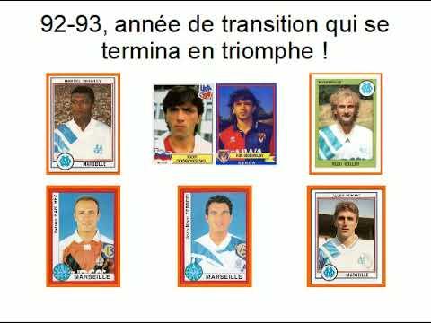 L'OM CHAMPION D'EUROPE, SAISON 1992-1993.