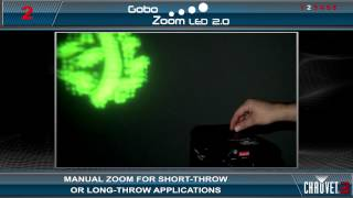 Gobo Zoom™ LED 2.0 by CHAUVET® DJ