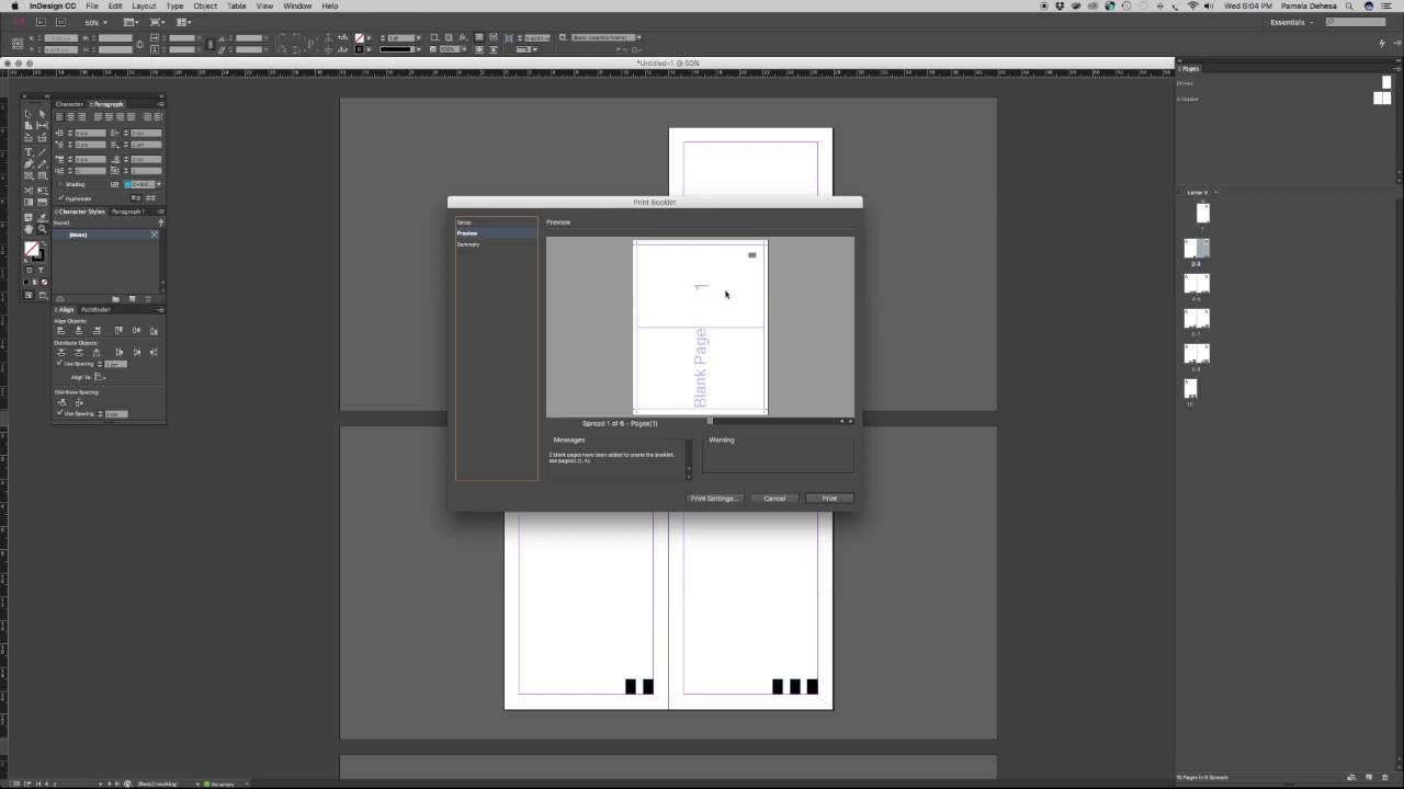Compaginado PostScript PDF en Indesign - YouTube