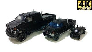 Transformers Movie Ironhide 3 toys truck transformation Video 트랜스포머 아이언 하이드 자동차 장난감 변신 동영상