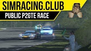 rFactor 2: SimRacing.Club public server fun races in Corvette C7R