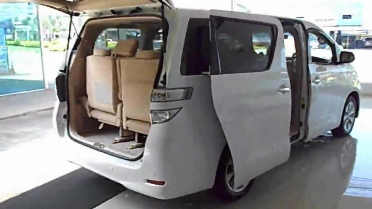 New Toyota Vellfire 2012 Stock# T101 Classic car design Pattaya