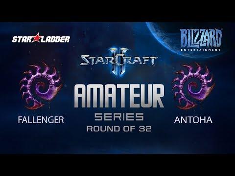 Amateur Series Round Of 32: Fallenger (Z) Vs Antoha (Z)