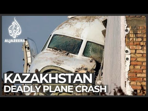 Bek Air Plane Crashes Near Kazakhstan's Almaty Airport