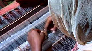 Traditional art of Jamdani weaving