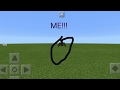 How to Morph to a bat! No mods/addons! Command_block trick) Minecraft Pe works in any version
