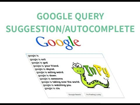 Google Search Query Suggestions API