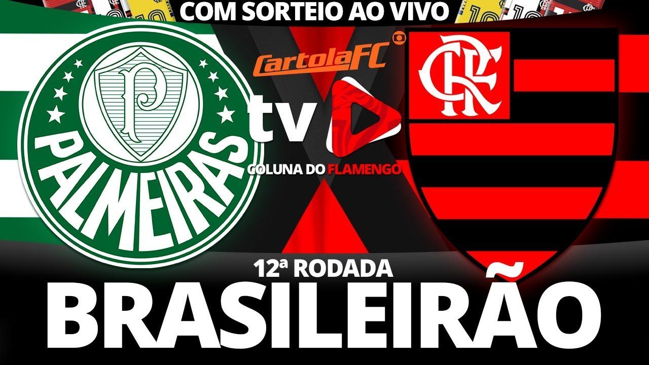 Palmeiras 1x1 Flamengo 12ª Rodada Brasileirão 2018