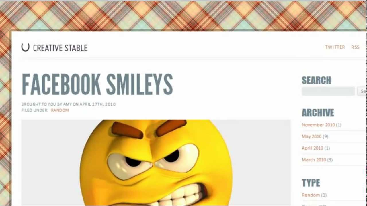 how to make smiley faces for facebook youtube
