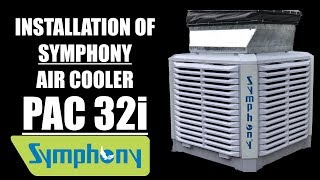 Symphony Industrial Air Cooler | PAC 32 i | installed by Cool Wind Engineers