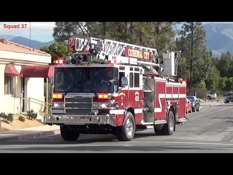 Cathedral City T412 Responding