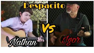 Video Nathan Fingerstyle vs Igor Presnyakov ( despacito ) fingerstyle guitar cover download MP3, 3GP, MP4, WEBM, AVI, FLV Agustus 2018