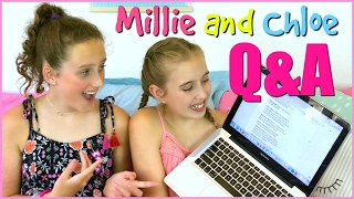Q&A! The Things You Want To Know Answered!  - Millie and Chloe DIY