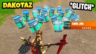 Dakotaz Shows Guaranteed CHUG JUG *GLITCH* | Fortnite Daily Funny Moments Ep.261