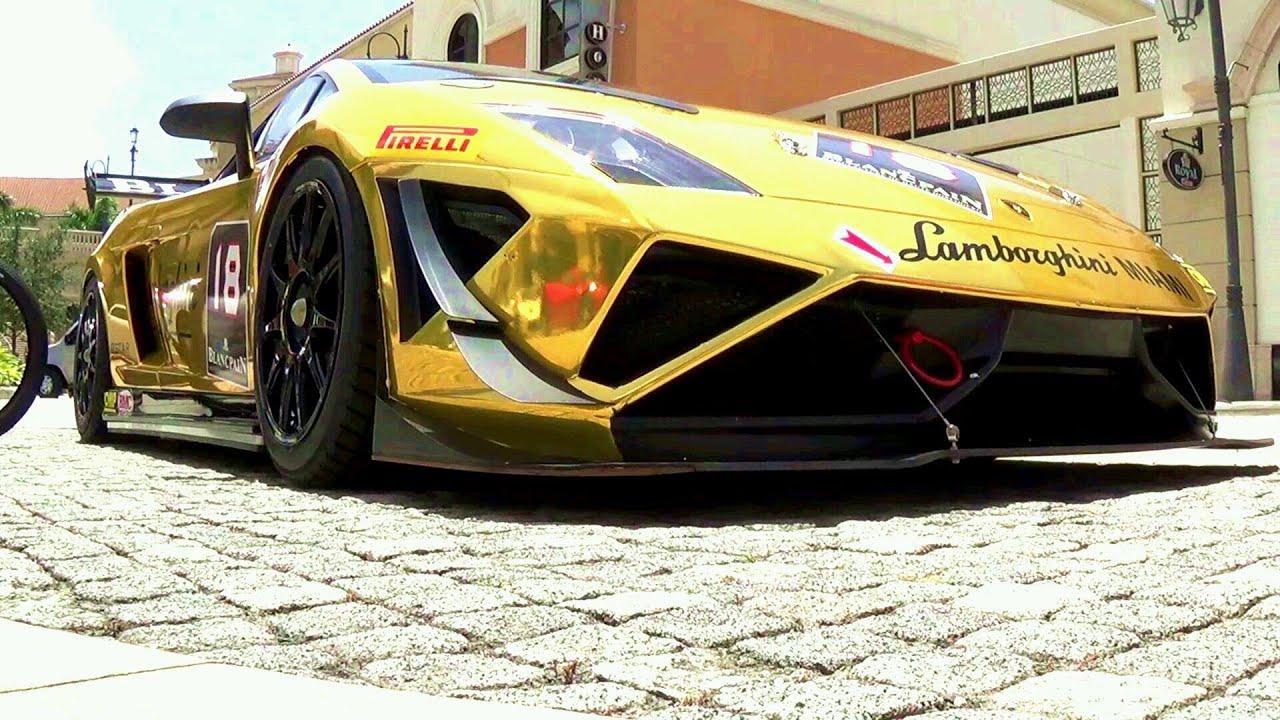 Lamborghini, Ferrari,Gold Super Trofeo. Supercar Poker Run. Best Supercars  Drive By. Part 4
