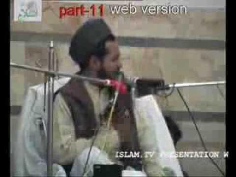 Molana Jarjees Ansari Siraji - A hard hitting speech on